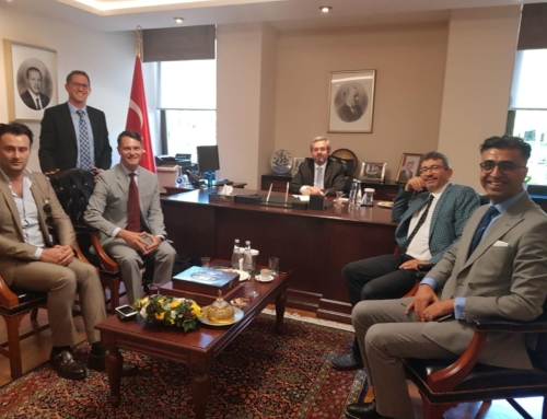 AMDR's Dan Vukelich visits with Turkish Ministry of Health July 2019