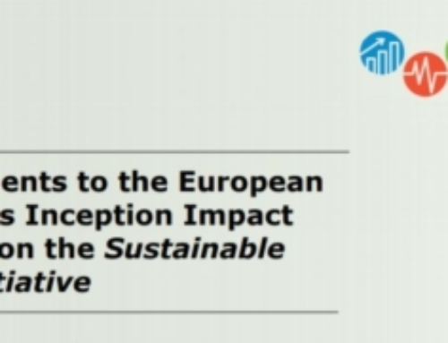 AMDR Comments to the European Commission's Inception Impact Assessment on the Sustainable Products Initiative